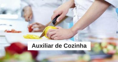Processo Seletivo: Auxiliar de Cozinha