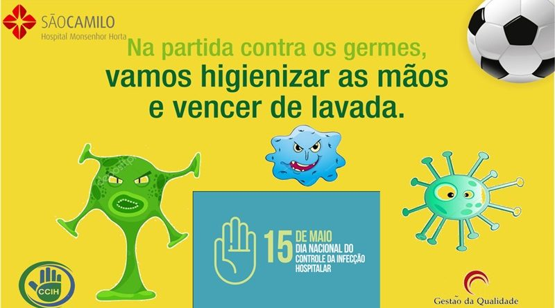 HMH mobiliza profissionais em Campanha de Higienização das Mãos